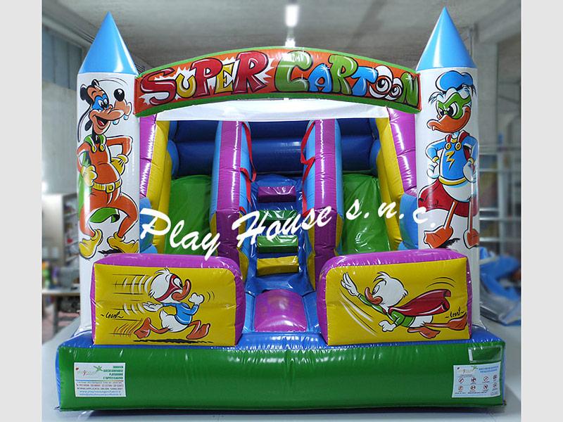 Giochi gonfiabili playground tappeti elastici vendita for Arredamento ludoteca prezzi